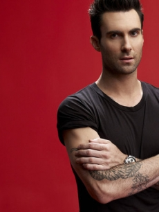 Adam Levine in a portrait for Season 2 of 'The Voice,' NBC