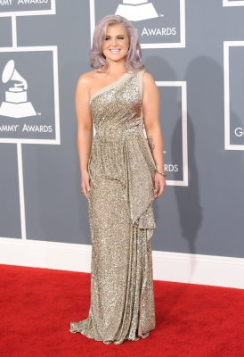 Kelly Osbourne dazzles at the 54th Annual Grammy Awards held at Staples Center in Los Angeles on February 12, 2012