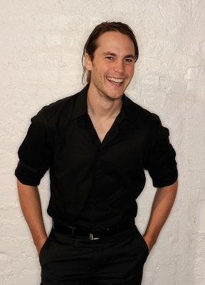 Taylor Kitsch visits the Tribeca Film Festival 2011 portrait studio in New York City on April 21, 2011