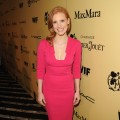 Jessica Chastain attends the Fifth Annual Women In Film Pre-Oscar Cocktail Party at Cecconi's Restaurant in Los Angeles on February 24, 2012