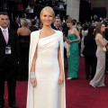 Gwyneth Paltrow sports a cape at the 84th Annual Academy Awards held at the Hollywood &amp; Highland Center in Hollywood, Calif. on February 26, 2012