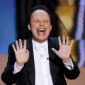 Billy Crystal cuts loose during the ceremony of the 84th Annual Academy Awards in Hollywood, Calif. on February 26, 2012