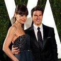 Katie Holmes and Tom Cruise attend the 2012 Vanity Fair Oscar Party Hosted By Graydon Carter at Sunset Tower in West Hollywood on February 26, 2012