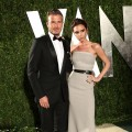 David and Victoria Beckham look smashing at the 2012 Vanity Fair Oscar Party Hosted By Graydon Carter at Sunset Tower in West Hollywood on February 26, 2012