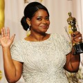 Octavia Spencer, winner of the Best Supporting Actress Award for 'The Help,' poses in the press room at the 84th Annual Academy Awards held at the Hollywood & Highland Center in Hollywood, Calif. on February 26, 2012