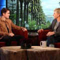 "Justin Bieber appears on the ""The Ellen DeGeneres Show"" on march 1, 2012"