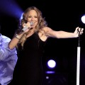 Mariah Carey performs during Escape To Total Rewards at Gotham Hall on March 1, 2012 in New York City