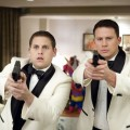 Jonah Hill and Channing Tatum in a screen from '21 Jump Street'