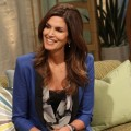 Cindy Crawford stops by Access Hollywood Live on March 8, 2012