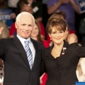 Ed Harris as John McCain and Julianne Moore as Sarah Palin in HBO&#8217;s &#8216;Game Change&#8217;