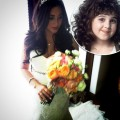 &#8216;Curly Sue&#8217; star Alisan Porter on her wedding day in Los Anegels on March 10, 2012 