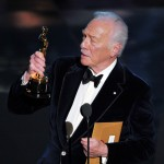 Christopher Plummer accepts the Best Supporting Actor Award for 'Beginners' onstage during the 84th Annual Academy Awards held at the Hollywood & Highland Center in Hollywood, Calif. on February 26, 2012