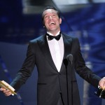 Jean Dujardin accepts the Best Actor Award for 'The Artist' onstage during the 84th Annual Academy Awards held at the Hollywood & Highland Center in Hollywood, Calif. on February 26, 2012