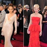 Oscars 2012 - Jennifer Lopez & Michelle Williams