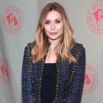 Elizabeth Olsen steps out at the Atlantic Theater Company Spring gala at The Lighthouse at Chelsea Piers in New York City on March 5, 2012