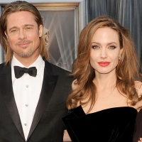 Oscars 2012: Brad Pitt & Angelina Jolie Gush Over Brad's Parents