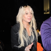Lindsay Lohan is seen entering her Soho hotel in New York City on February 27, 2012