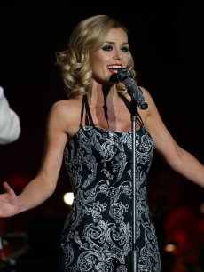 Katherine Jenkins performs at BIC on February 9, 2012 in Bournemouth, England