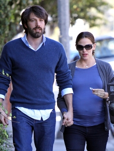 Ben Affleck and Jennifer Garner are spotted out and about on October 27, 2011 in Los Angeles