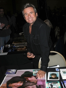 Davy Jones attends the Hollywood Show held at Burbank Airport Marriott in Burbank, Calif., on February 11, 2012