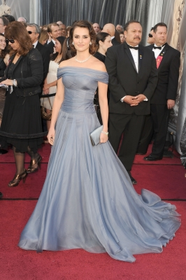Penelope Cruz arrives at the 84th Annual Academy Awards held at the Hollywood & Highland Center in Hollywood, Calif. on February 26, 2012