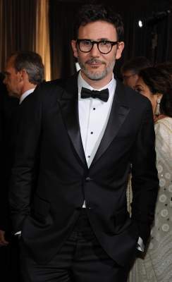 Best Director nominee Michel Hazanavicius looks dapper at the 84th Annual Academy Awards held at the Hollywood & Highland Center in Hollywood on February 26, 2012