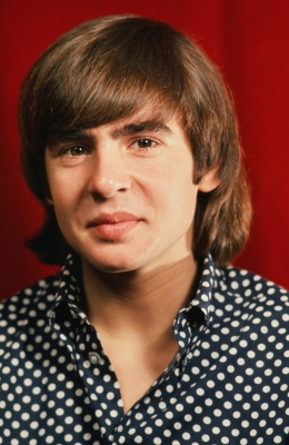 Davy Jones on the set of the television show 'The Monkees' in Los Angeles circa 1967