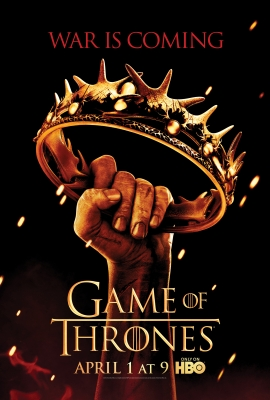 The key art for HBO's 'Game of Thrones' Season 2