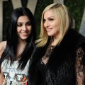 Madonna and daughter Lourdes Leon arrive at the Vanity Fair Oscar Party at Sunset Tower in West Hollywood, Calif. on February 27, 2011