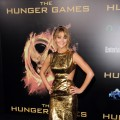 Jennifer Lawrence arrives at the premiere of Lionsgate&#8217;s &#8216;The Hunger Games&#8217; at Nokia Theatre L.A. Live, Los Angeles, on March 12, 2012
