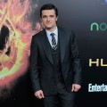 Josh Hutcherson arrives to the premiere of Lionsgate's 'The Hunger Games' at Nokia Theatre L.A. Live on March 12, 2012 in Los Angeles, California.