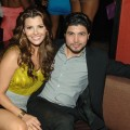 Ali Landry and Alejandro Monteverde attend the first hot moms party at TAO Nightclub in The Venetian Hotel and Casino Resort in Las Vegas on May 10, 2008
