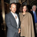 Peter Sarsgaard and wife Maggie Gyllenhaal attend the Broadway opening night of 'Death Of A Salesman' at the Barrymore Theatre in New York City on March 15, 2012