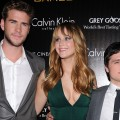 Jennifer Lawrence, Liam Hemsworth &amp; Josh Hutcherson Talk &#8216;The Hunger Games&#8217; At NYC Screening