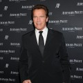 Arnold Schwarzenegger is seen looking dapper at the Royal Oak 40 Years: From Avant-Garde to Icon at Park Avenue Armory in New York City on March 21, 2012