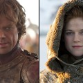 Peter Dinklage as Tyrion and Rose Leslie as Ygritte in &#8216;Game of Thrones&#8217; Season 2