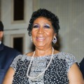 Aretha Franklin attends her 70th Birthday celebration at The Helmsley Hotel in New York City on March 24, 2012
