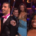 Katherine Jenkins and Mark Ballas, William Levy and Cheryl Burke, Sherri Shepherd and Val Chmerkovskiy