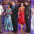 Martina Navratilova and Tony Dovolani, Gladys Knight and Tristan MacManus, Karina Smirnoff and Gavin DeGraw, Melissa Gilbert and Maksim Chmerkovskiy
