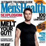 Taylor Kitsch on the cover of Men's Health (April 2012)