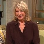 Martha Stewart stops by Access Hollywood Live on March 14,2012