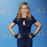 Madonna promotes the film 'W.E.' during a photocall at The London Studios on January 11, 2012 in London