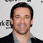 Jon Hamm attends the TimesTalk: A Conversation with the Cast of 'Mad Men' at The Times Center in New York City on March 20, 2012