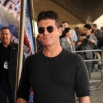 Simon Cowell arrives for a taping of Britain's Got Talent at BFI Southbank in London on March 22, 2012
