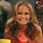 Kristin Chenoweth smiles on Access Hollywood Live on March 23, 2012