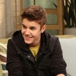 Justin Bieber stops by Access Hollywood Live on March 27, 2012