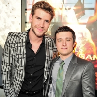 Josh Hutcherson and Liam Hemsworth step out at 'The Hunger Games' Canadian premiere in Toronto on March 19, 2012