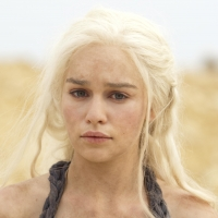 Emilia Clarke as Daenerys Targaryen in 'Game of Thrones' Season 2