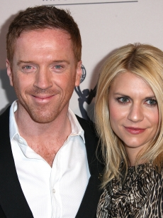 Damian Lewis and Claire Danes attend The Academy of Television Arts & Sciences Presents an Evening with 'Homeland' at the Leonard H. Goldenson Theatre, North Hollywood, on March 21, 2012
