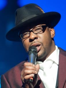 Bobby Brown performs at NJPAC &#8211; Prudential Hall in Newark, New Jersey on February 19, 2012